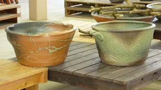 大器の器 大深睡蓮水鉢