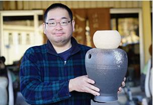 大器の器 壷型陶琴
